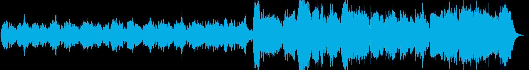 R.ワグナーによるブライダルコーラ...の再生済みの波形