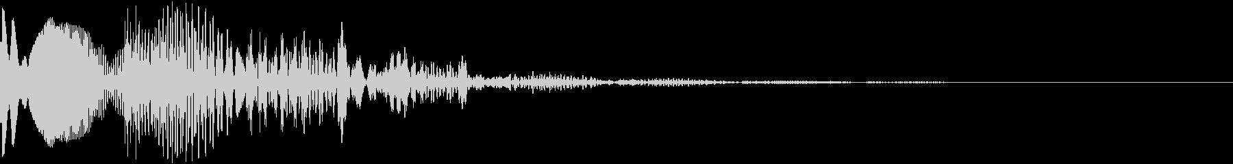 レトロ系シューティングゲーム被弾爆発SEの未再生の波形