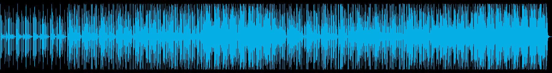 不思議/シンプル/R&B_No469_1の再生済みの波形