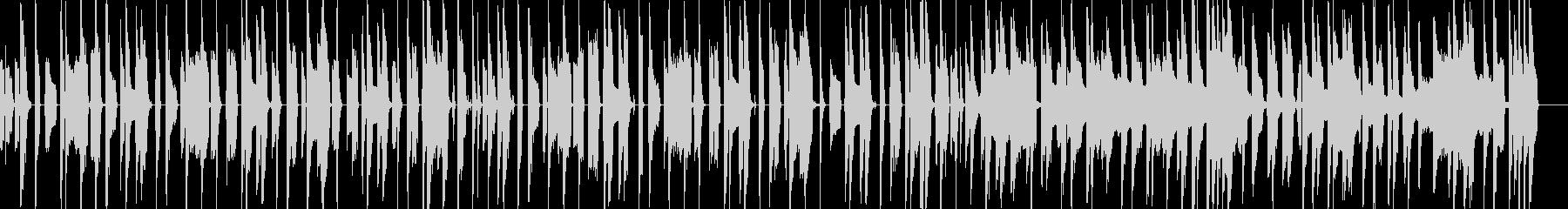 コミカルな日常の未再生の波形