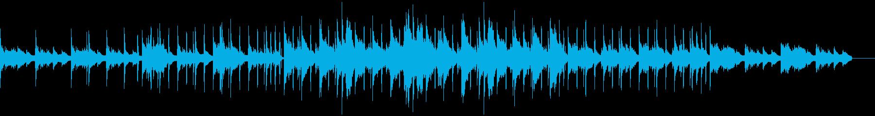 ヴィンテージな感じのソウルヒップホップの再生済みの波形