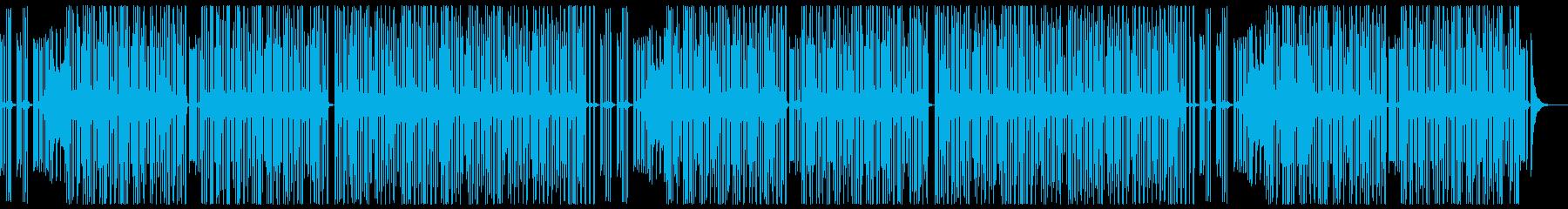 3分クッキングっぽい曲の再生済みの波形