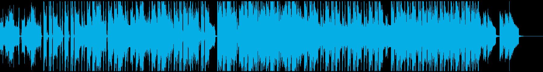 広がりのあるエレピの優しいヒップホップの再生済みの波形