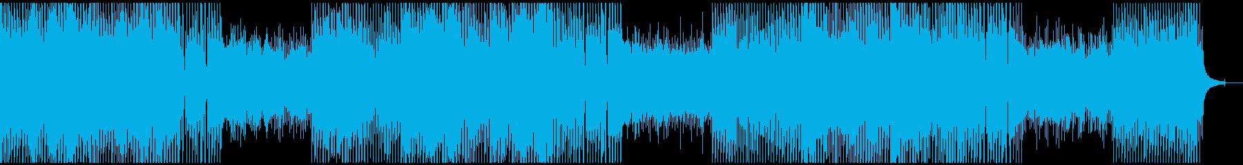 企業VP/さわやか/EDM/ピアノの再生済みの波形