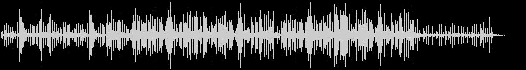 リコーダーの元気で可愛い曲1の未再生の波形