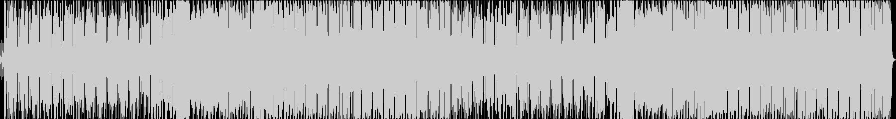 キラキラサウンドの可愛いBGMの未再生の波形