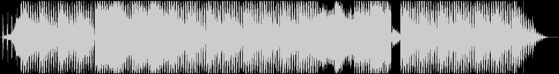 ダークなインダストリアル系のテクノの未再生の波形