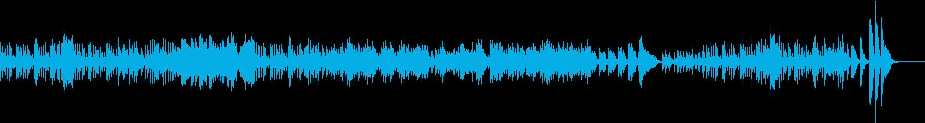 軽快なピアノ曲 ソナチネ ベートーヴェンの再生済みの波形