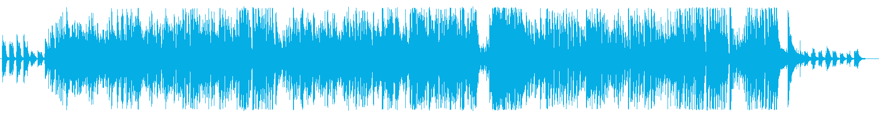 軽快で明るいジャズカルテットの再生済みの波形
