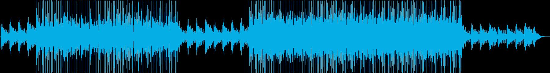 明るくポジティブ!可愛いアコギとピアノの再生済みの波形