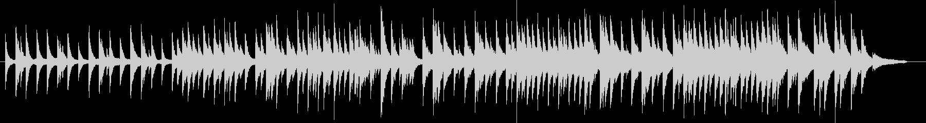威風堂々のピアノソロバージョン ト長調の未再生の波形