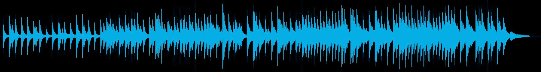 威風堂々のピアノソロバージョン ト長調の再生済みの波形