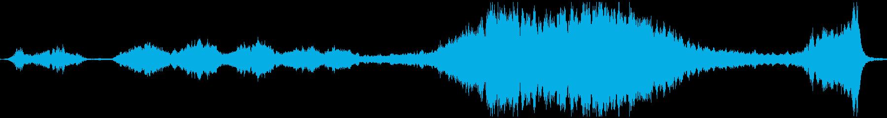 B/つらすぎる弦楽BGM・映像制作の再生済みの波形