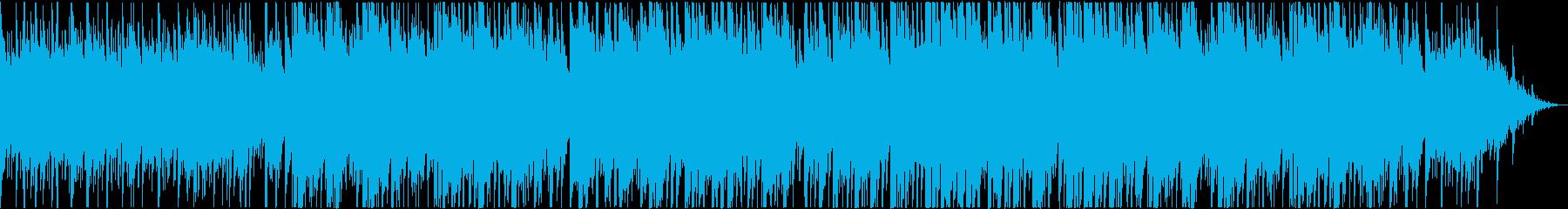 ほのぼの温かい風に吹かれてくつろぐの再生済みの波形