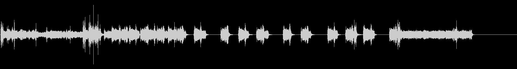 タイプライター-デスクライター-ラ...の未再生の波形