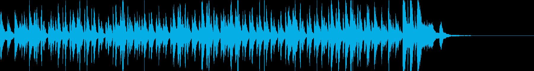 Jazz Musicの再生済みの波形