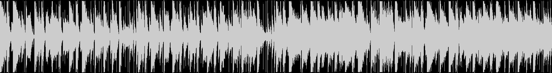 定番曲:のどかな日常[ループ・ショート]の未再生の波形