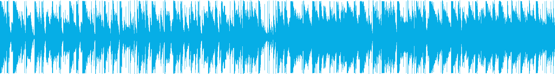 定番曲:のどかな日常[ループ・ショート]の再生済みの波形