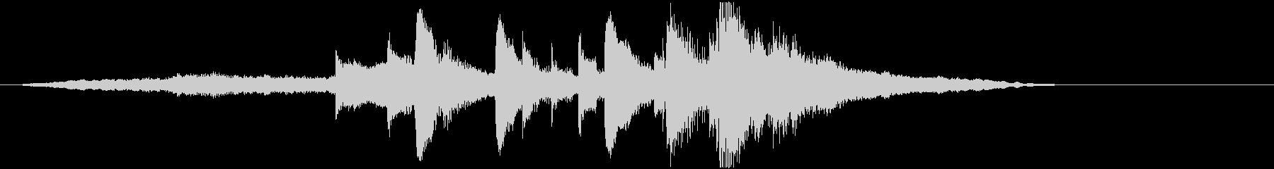 音楽ロゴ;遅いクラシックギター、ス...の未再生の波形
