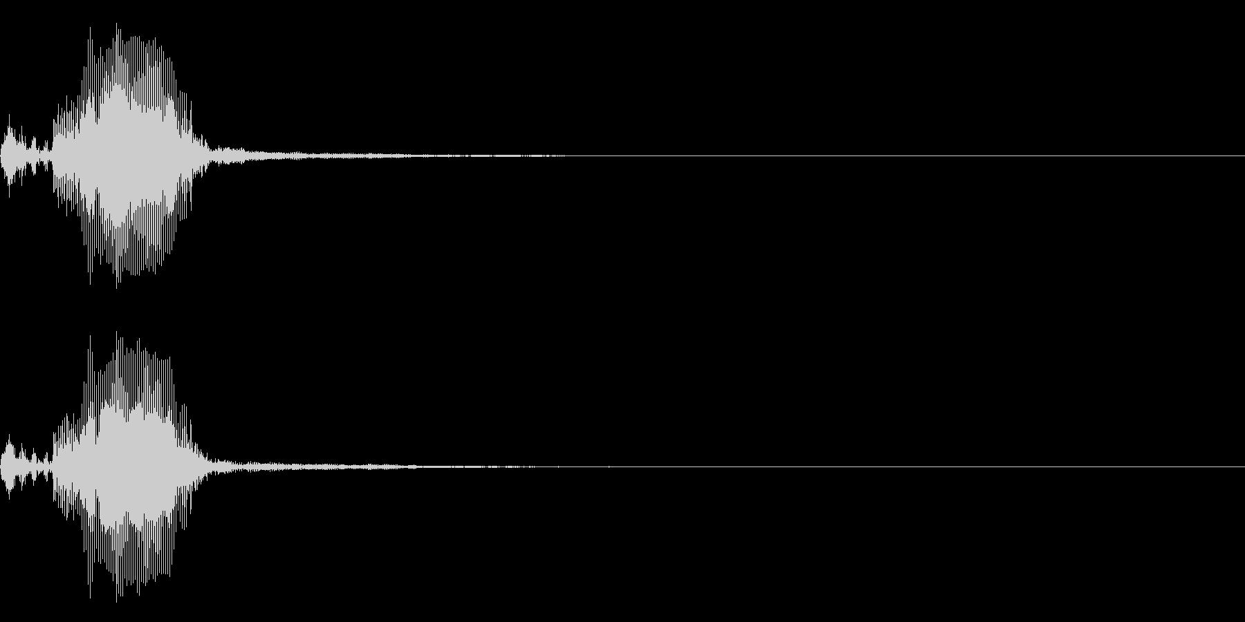 【生録音】フラミンゴの鳴き声 22の未再生の波形