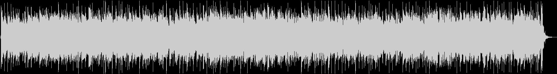 スネアの軽快なサウンドとBASSのリズムの未再生の波形