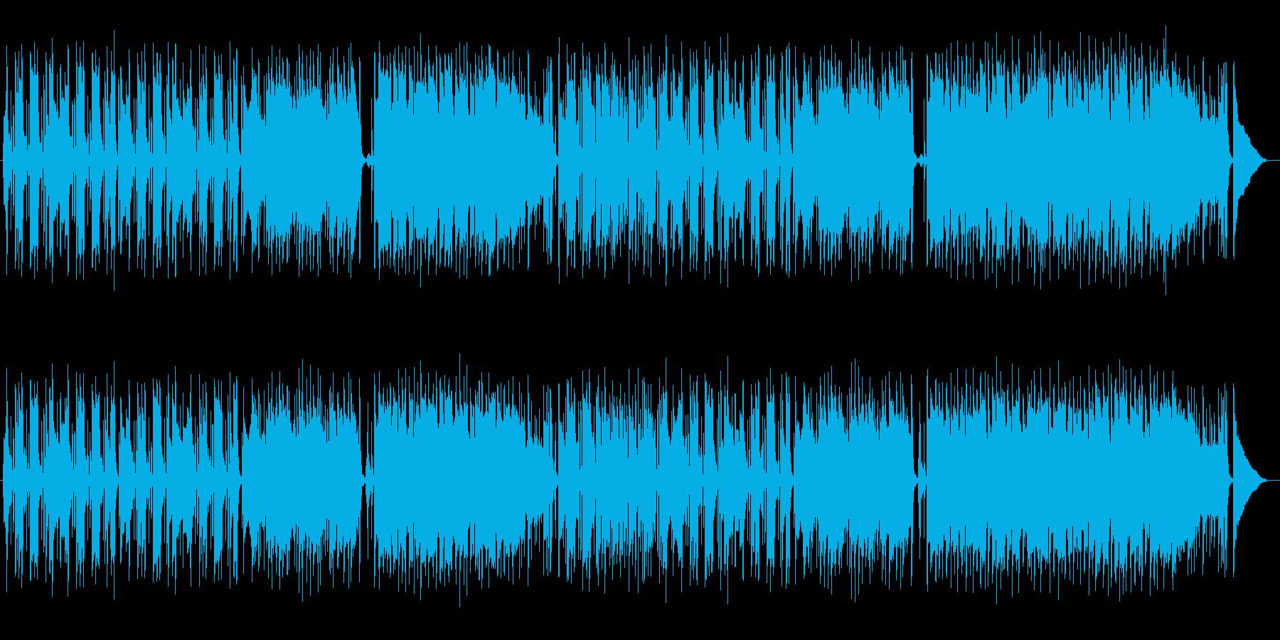 ゆったり昼下がりのリラックスミュージックの再生済みの波形