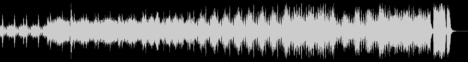 モダンでモードなクールピアノストリングスの未再生の波形
