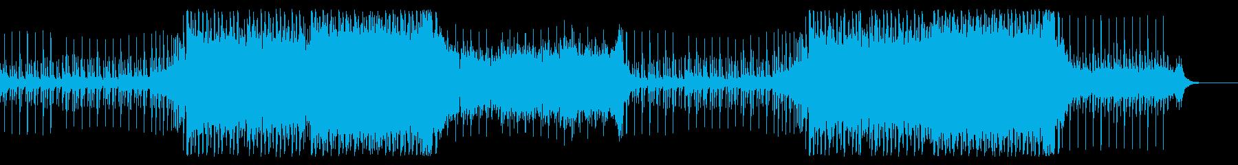 爽快で疾走感のあるメロディアスなEDMの再生済みの波形