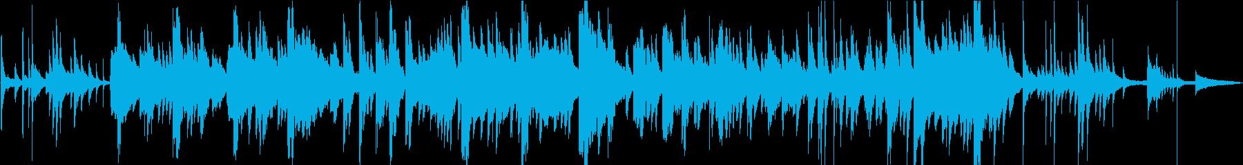 ピアノとトランペットのエレガントなジャズの再生済みの波形