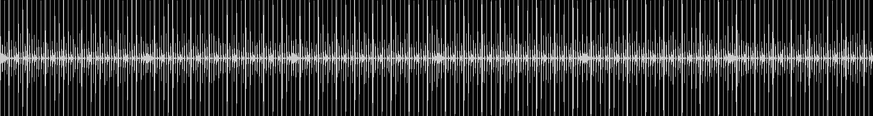 動画・雑談向け シンプルなドラムループの未再生の波形