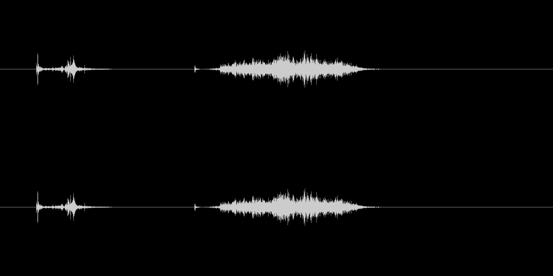 【カッター02-6(切る 段ボール)】の未再生の波形