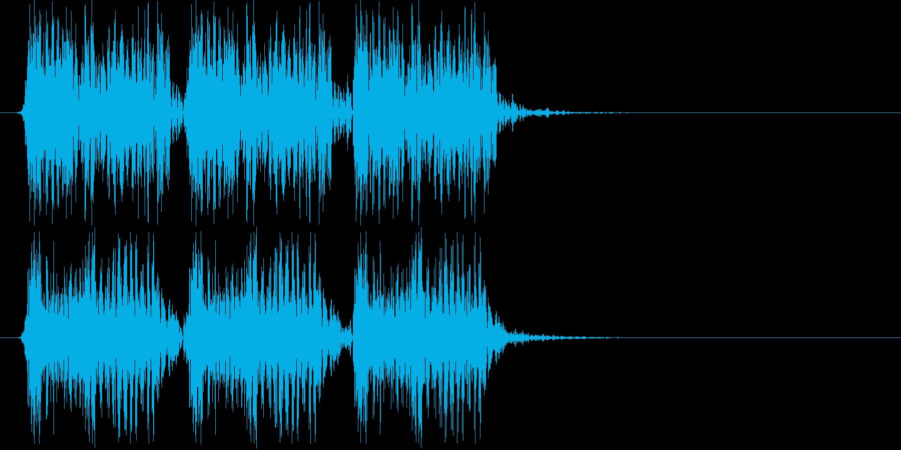 激情的なパンクサウンド#03(ジングル)の再生済みの波形