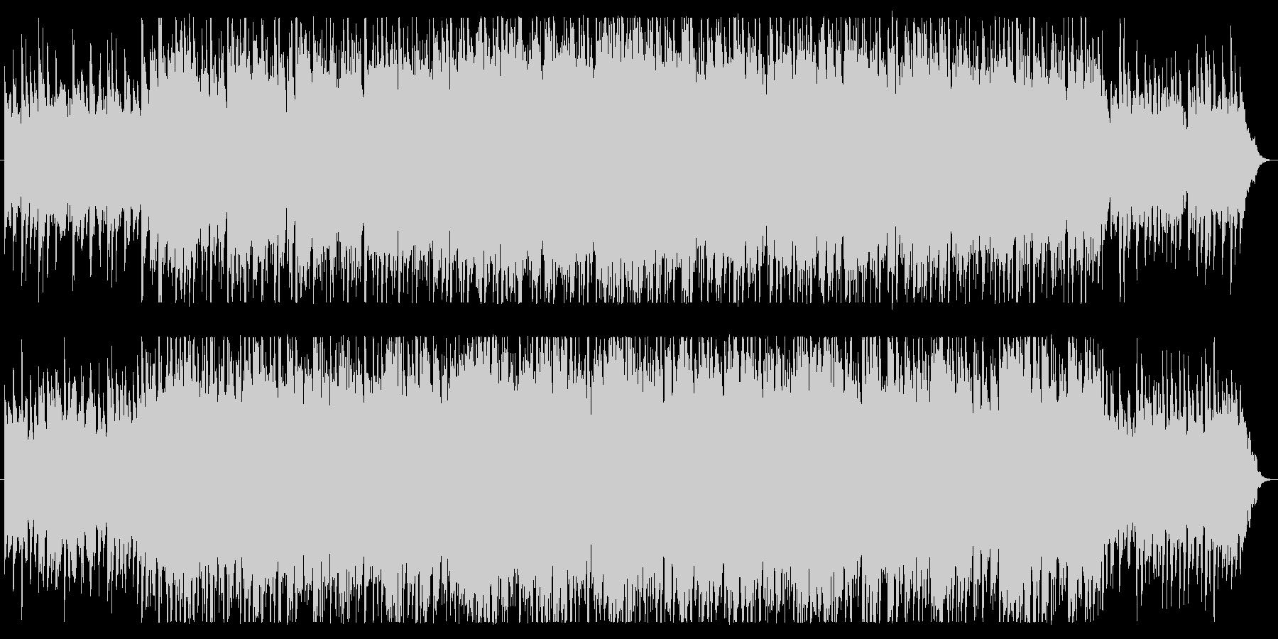 シンセとアコギの穏やかなポップスの未再生の波形