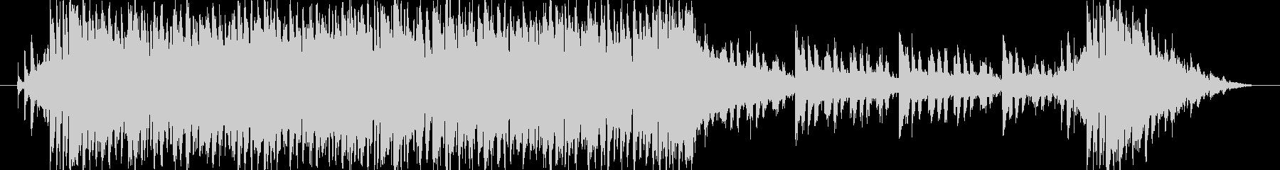 近未来でサイバーな曲です。の未再生の波形