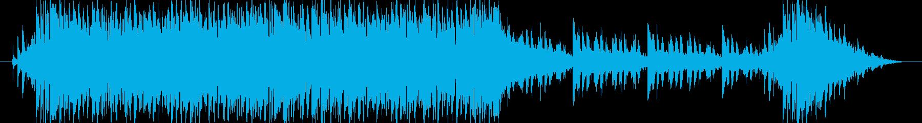 近未来でサイバーな曲です。の再生済みの波形
