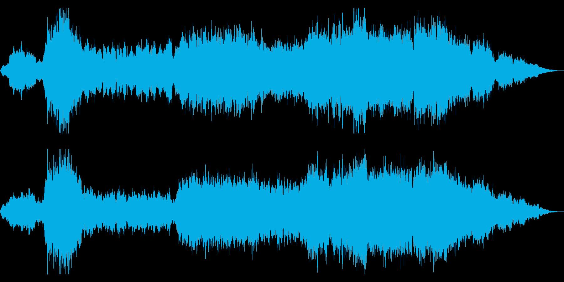 壮大さを感じる映画音楽の再生済みの波形