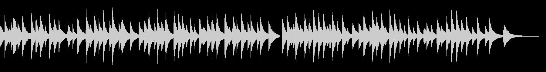 切ないジャズラウンジピアノソロ/外国民謡の未再生の波形