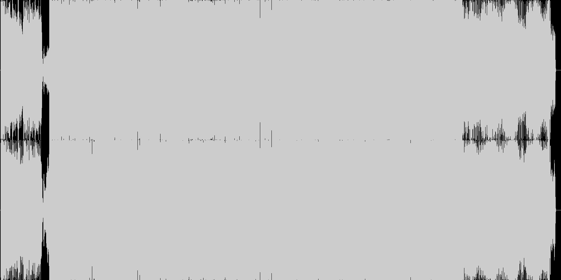 【イベント】映像向けEDMドラムンベースの未再生の波形