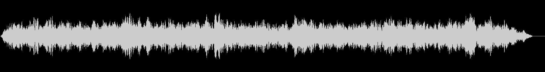 ハム付きベッド合唱団の未再生の波形