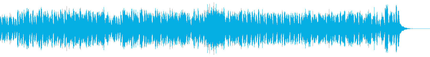 旋律が絡み合うピアノ曲の再生済みの波形