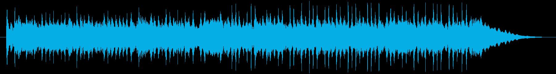 アコギメインのほのぼの曲の再生済みの波形