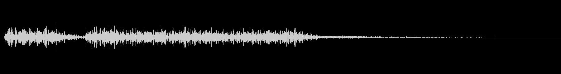 クイズの不正解音_ブブーの未再生の波形