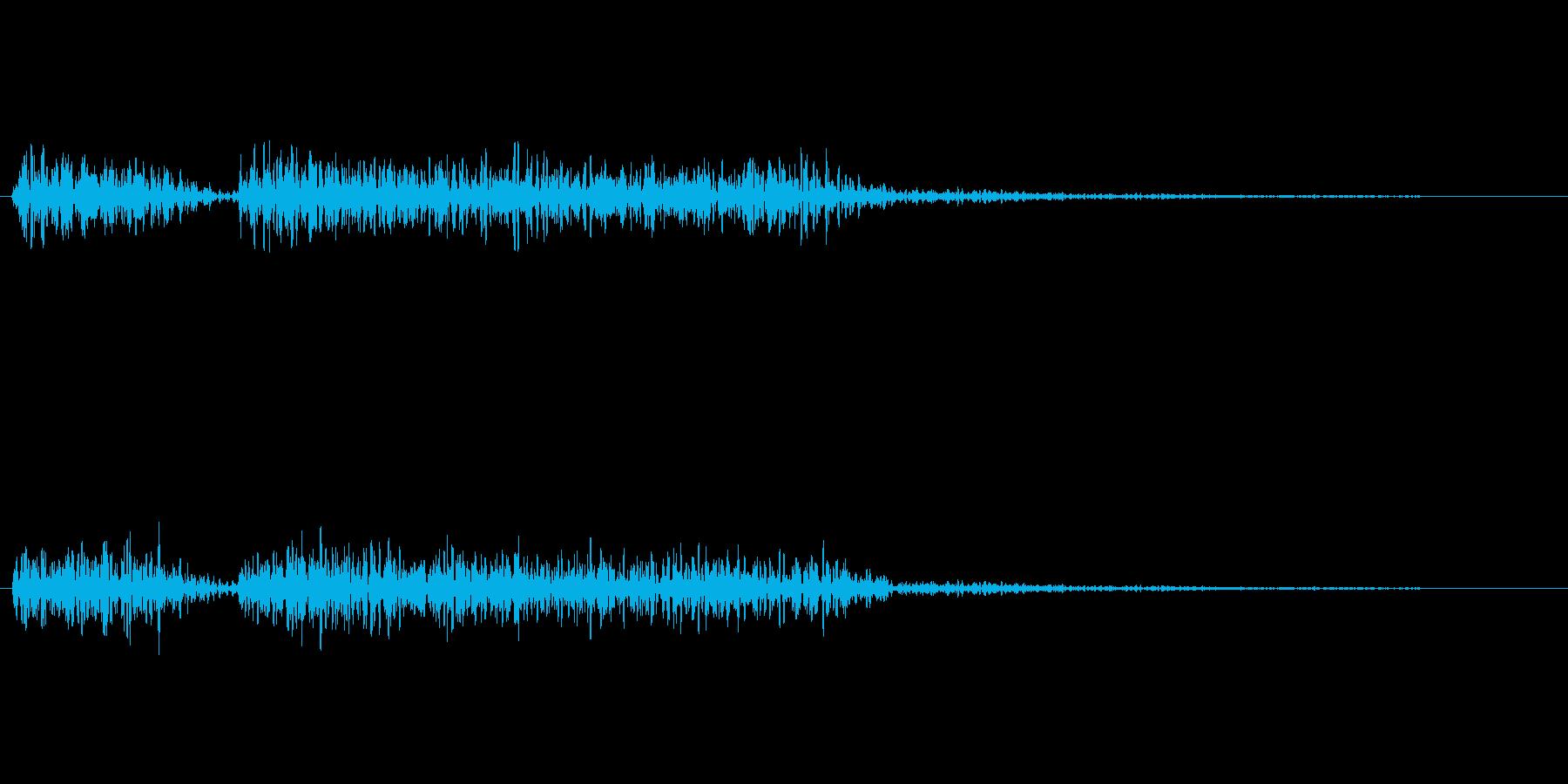 クイズの不正解音_ブブーの再生済みの波形