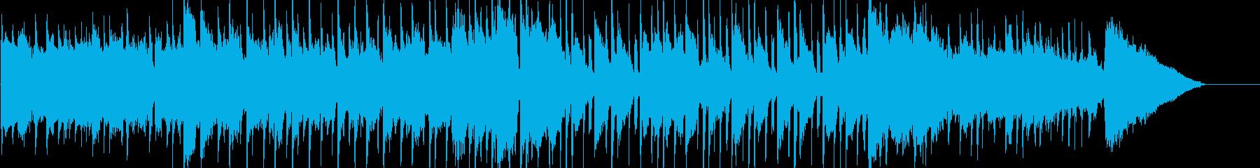 のんびり、ほのぼの、さわやか、自然の再生済みの波形