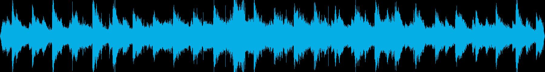 フィンランドの大聖堂の鐘の音ですの再生済みの波形