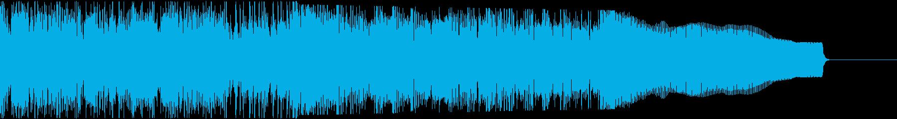 カントリー風ギターイントロ−06Eの再生済みの波形