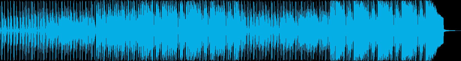 ポップ アクション 繰り返しの お...の再生済みの波形