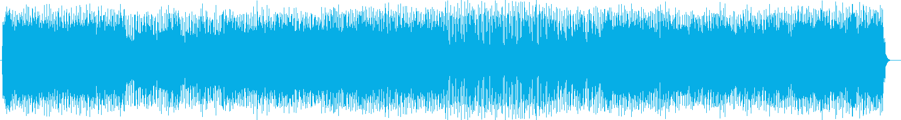 穏やかでポップなエレキサウンドの再生済みの波形