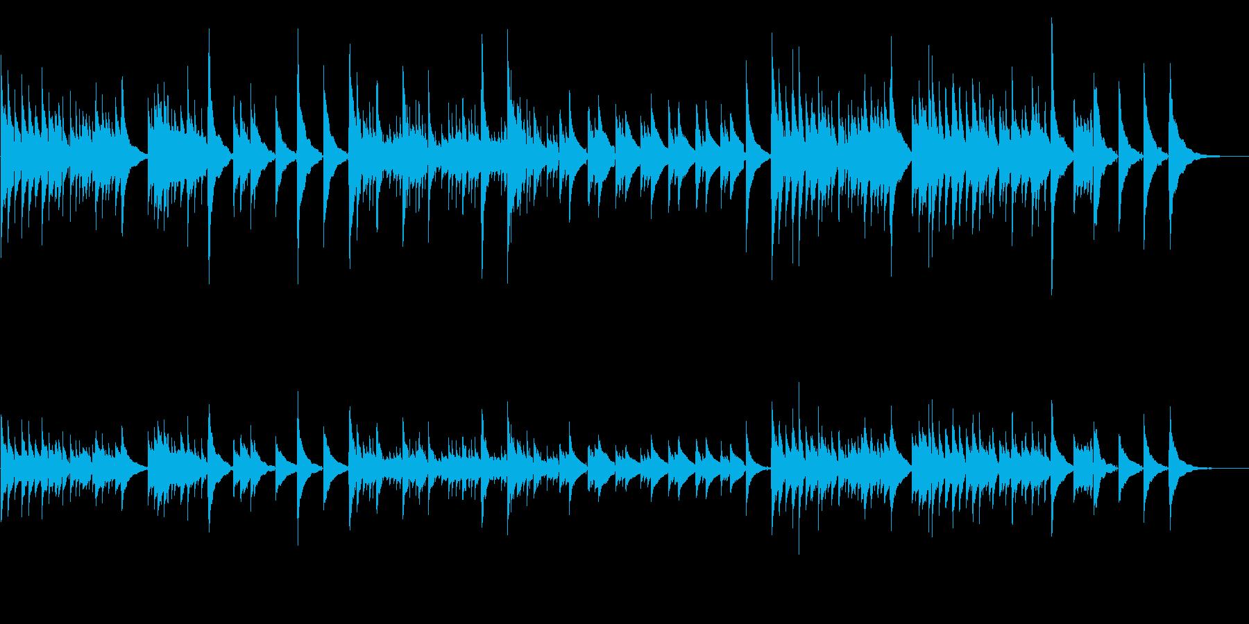 アコギ20/素敵なメロディ、生音の再生済みの波形