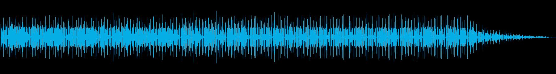 ループハウス。繰り返します。テクノの再生済みの波形